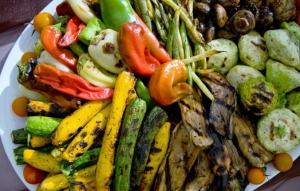 Marinated/Grilled Organic Vegetables